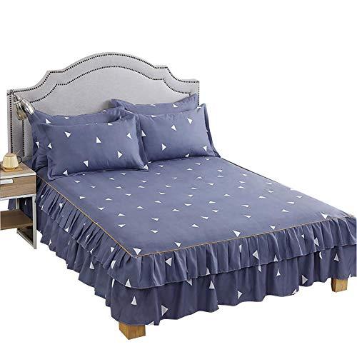 Redxiao~ 【𝐎𝐟𝐞𝐫𝐭𝐚𝐬 𝐝𝐞 𝐁𝐥𝐚𝐜𝐤 𝐅𝐫𝐢𝐝𝐚𝒚】 Juego de sábanas de Hilo de 3pcs / Set, Juego de Ropa de Cama de Almohada(Pillowcase: 48 * 74cm*2)