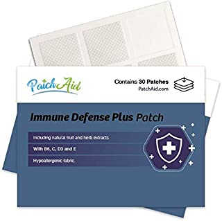 Immune Defense Plus Topical Patch by PatchAid (1-Month Supply)