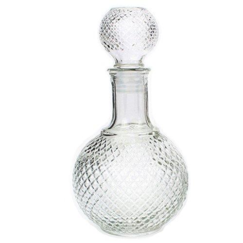 Pillow Cry Bouteille de Verre de Carafe de vin de Whisky de Cristal de 250ml avec la Carafe d'eau de Bouchon d'eau