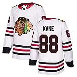 CYANNAN Blackhawks 77 DACH 19 Toews 88 Kane Jersey Camisetas de Hockey sobre Hielo para Hombre Mujere, Jersey Transpirable de Manga Larga Sudadera con Letras y Números