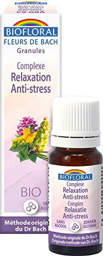 Biofloral Complexe floral nà°9 Relaxation Anti stress en granules sans alcool 10g