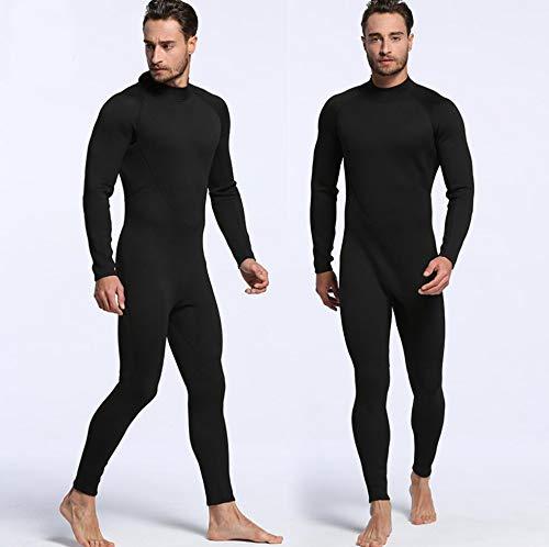 Z&X 2mm Neopreen Wetsuit - Zwemmen Surf Jump Suit Surf Warm Duiken Suit Suspenders en Jas 2 Stuks