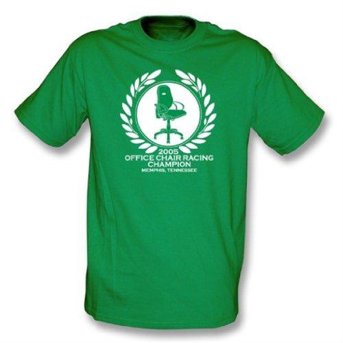 Camiseta del campeón que compite con de la silla de la oficina Xx-Grande, color Kelly Green