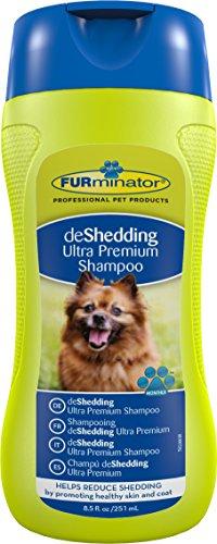 FURminator deShedding Ultra Premium Shampoo voor honden en katten (anti-haren shampoo voor gezond hondendefell), 250 ml