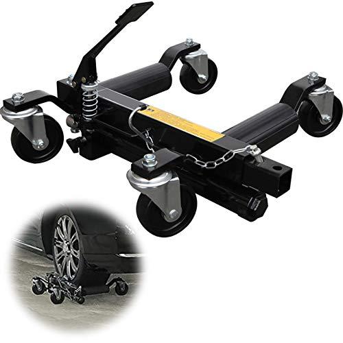 GJZhuan Coche de la Rueda Carros Patines, Patín Hidráulico de Rueda del Carro en Movimiento Removedor de Obstáculos, con Giro de 360 Grados Ruedas 680 Kg Vehículo Hidráulico (Size : 2pcs)
