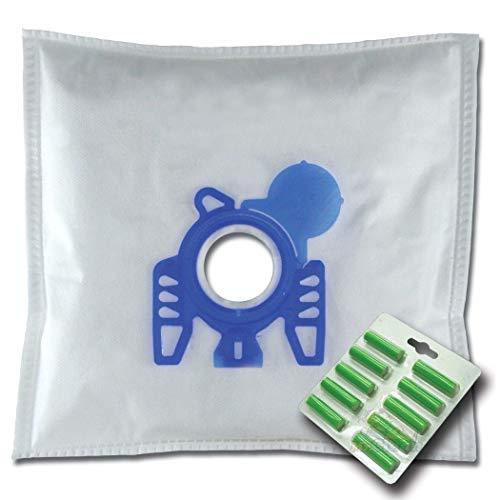 10 x Mr.Clean Staubsaugerbeutel + 10 Duftstäbe geeignet für Hoover Sensory TS 1401 1406