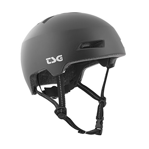 TSG Helm Status Solid Color Halbschalenhelm, Satin Black, S/M