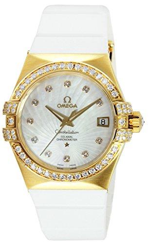 [オメガ] 腕時計 コンステレーション ホワイトパール文字盤 コーアクシャル自動巻 ダイヤ K18YG無垢 裏蓋スケルトン 123.57.35.20.55.003 並行輸入品 ホワイト