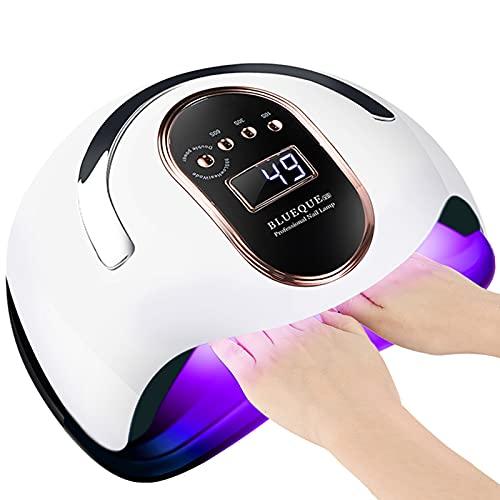 UV LED Nail Lamp, 120W Nail Dryer 36 Lights Gel Polish Nail Curing Lamp Nail Light