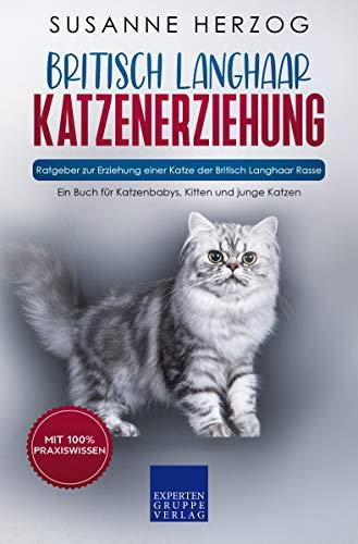 Britisch Langhaar Katzenerziehung - Ratgeber zur Erziehung einer Katze der Britisch Langhaar Rasse: Ein Buch für Katzenbabys, Kitten und junge Katzen