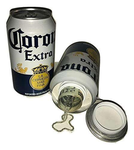 Fake Corona Beer Can Safe Diversion Secret Stash Safes with Hidden Storage to Hide Money Jewelry Anything