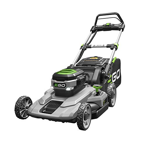 EGO Power+ LM2101 21-Inch 56-Volt Lithium-ion Cordless Lawn Mower 5.0Ah Battery and Rapid Charger Included
