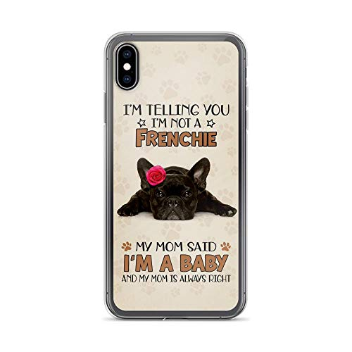 Compatible for iPhone 6/6s Case French Bulldog Gifts for Women Funny Dog Mom Puppy Flower TPU Anti-Scratch