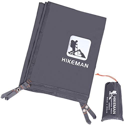 テントシート防水レジャーシートグランドシート両面防水日除け加工紫外線カット軽量収納バッグ付きアウトドアキャンプ登山ピクニック(M/L/XL/XXL/XXXL)(S(90cm*210cm))…