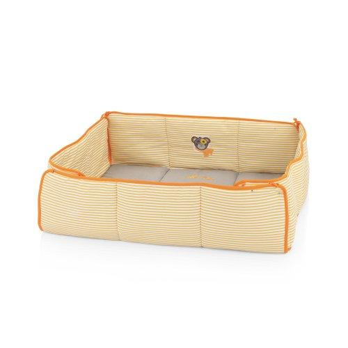Herlag H9054-352 Laufgittereinlage, passend zu H1055-/H1056, gestreift, grau/orange