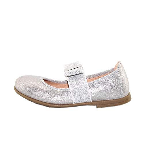 Unisa Ballerina SAMA_20_MTS Silver Metallic, Silber - silber - Größe: 35 EU