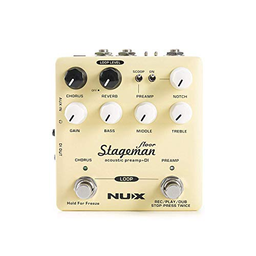 NUX | Stageman Floor Acoustic Preamp DI Pedal