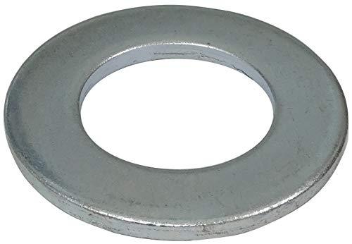 AERZETIX - Juego de 5 arandelas planas - M36 - H4.7mm - Acero galvanizado - Metal - DIN125 - Ferretería - Bricolaje - C44518