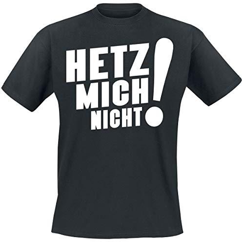 Sascha Grammel Hetz Mich Nicht! T-Shirt schwarz L