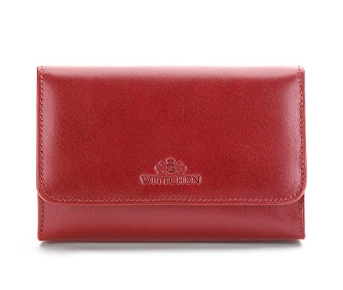 WITTCHEN Vanity | Couleur: Rouge | Cuir de Grain | La Taille (cm): 11 x Largeur (cm): 16 | Collection: Italy | 21-3-117-3
