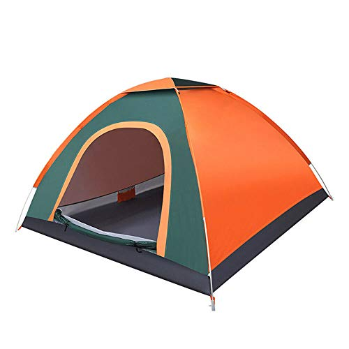 APXZC Fully Automatic Camping Tent, Portable Climbing Tents, Super Breathable Strong And Durable Easy to Carry Fast Storage, for 3-4 People Anti-Storm Travel