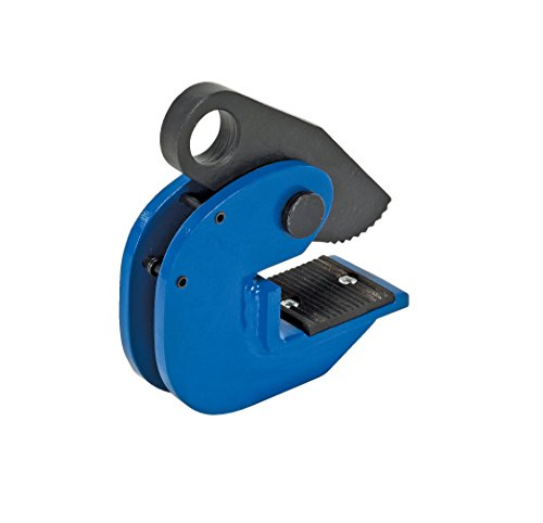 Vestil HPC-20 Horizontal Plate Lifting Clamp, Steel, 13/16