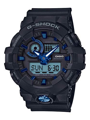 G-Shock Men's GA-710B-1A2CR Black One Size