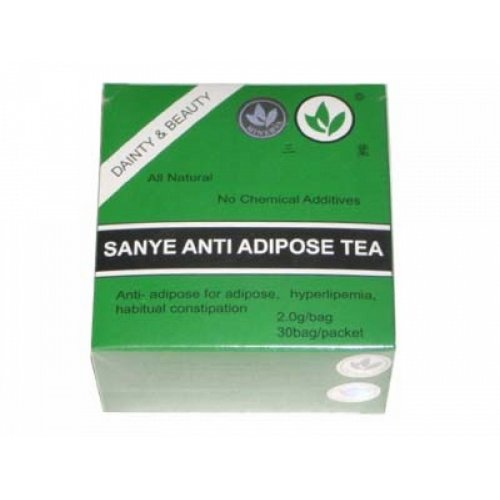 SANYE ANTI-ADIPOSE TEA & Detoxifying Laxative & Cleansing acti 30 bags - 30 days