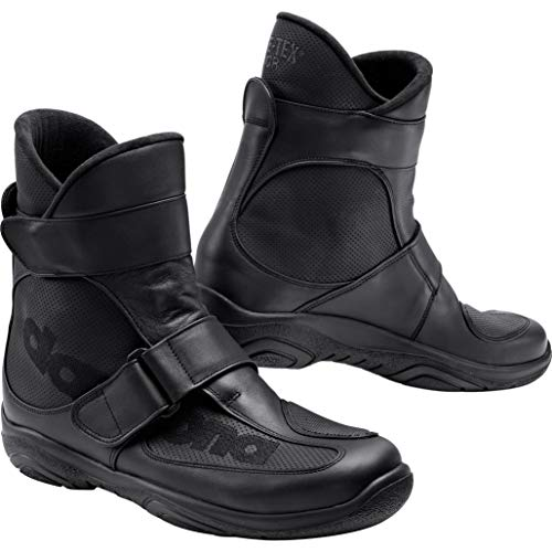 Daytona Boots Motorradschuhe, Motorradstiefel kurz Journey XCR Stiefel schwarz 49, Unisex, Tourer, Ganzjährig, Leder
