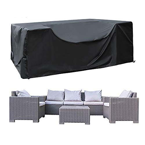 SIRUITON Patio Furniture Cover Waterproof Oxford Polyester Outdoor Garden...