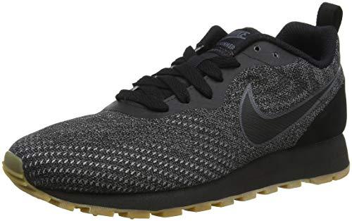 Nike Damen Sneaker Mid Runner 2 Eng Mesh Laufschuhe, Schwarz (Black/Black/Dark Grey 005), 38 EU
