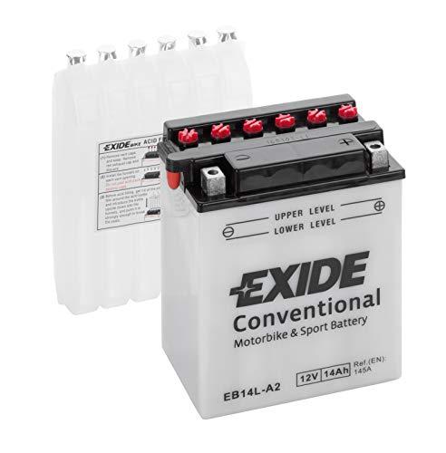 Batteria moto Exide E60-N30L-B Y60-N30L-B 12v 30ah 300A dimensioni 185X128X168