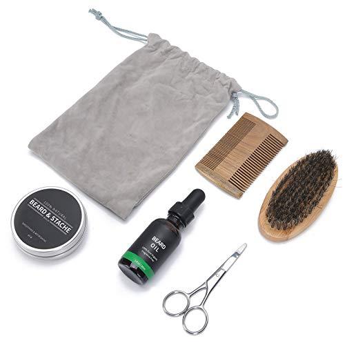Trimmschere Öl Bart Kamm Bürste Aufbewahrungstasche für Ehemann für Freund