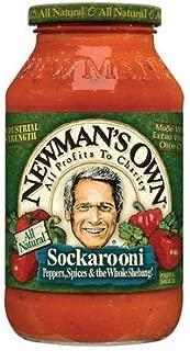 Newman's Pasta Sauce Sockarooni 24 FZ (Pack of 4)
