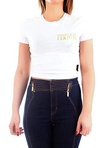 Versace Jeans Couture B2HVA72010567 Kurzarm Damen Weiss 42