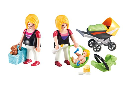 PLAYMOBIL Add-On Series - Pregnant Mother with Baby