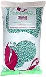 Dermawax Perles de cire Aloe Vera Premium de 1 kg sans bandes de cire pour l'épilation, cire pour le corps entier à la cire brésilienne, jambes, visage, bras, zone de bikini et intime