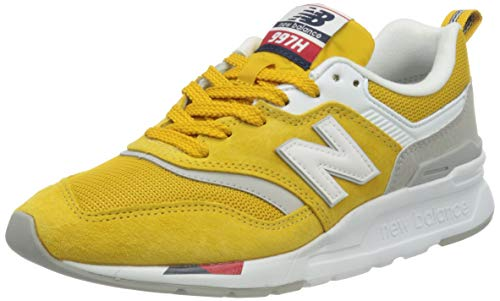 New Balance 997h, Zapatillas para Mujer, Amarillo (Yellow/Red HAF), 35 EU