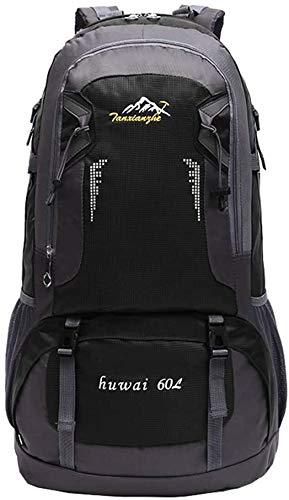 MVNZXL Mochila para mochileros Outdoor Plus, 60L Bolsa multifunción de montañismo al Aire Libre para Adultos de Alta Capacidad para Acampar y Senderismo