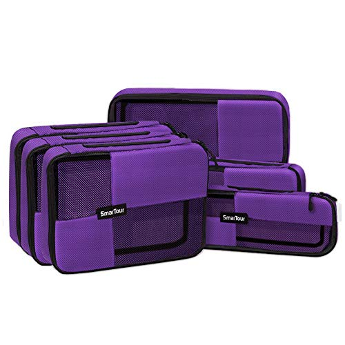 SmarTour Travel Packing Cubes Luggage Organizers Durable Suitcase...