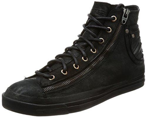 Diesel Magnete Expo-Zip-Sneaker m Y01545, Zapatillas Altas Hombre, Negro (Black T8013), 42 EU