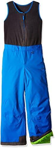 Arctix Kids Limitless Fleece Top Bib Overalls Nautical Blue Medium Regular product image