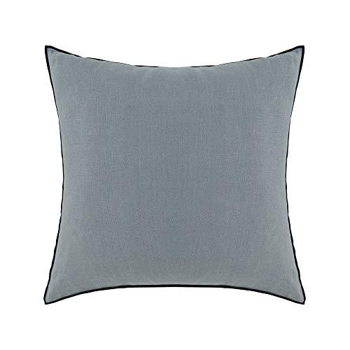 Madura–Funda de almohada Carlina–verde y pedal negro–65x 65cm