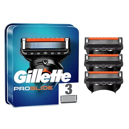 Gillette - ProGlide Power Rasierklingen Für Herren - Mit 5 Anti-Reibungs-Klingen Für Eine Gründliche Und Langanhaltende Rasur - 3x Nachfüllung
