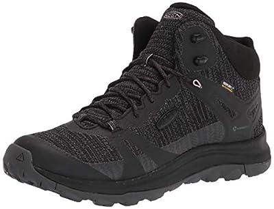 KEEN Women's Terradora 2 Waterproof Mid Height Hiking Boot, Black/Magnet, 8 M (Medium) US