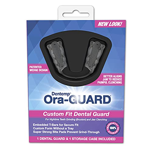 Dental Grind Guard for Bruxism - Ora-GUARD for Nighttime Teeth Grinding and Jaw Clenching