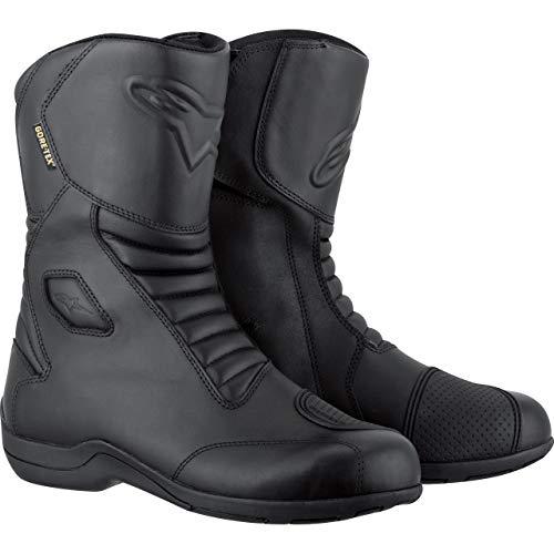Alpinestars - Stivali da Moto Web Goretex, Taglia 45, Colore: Nero