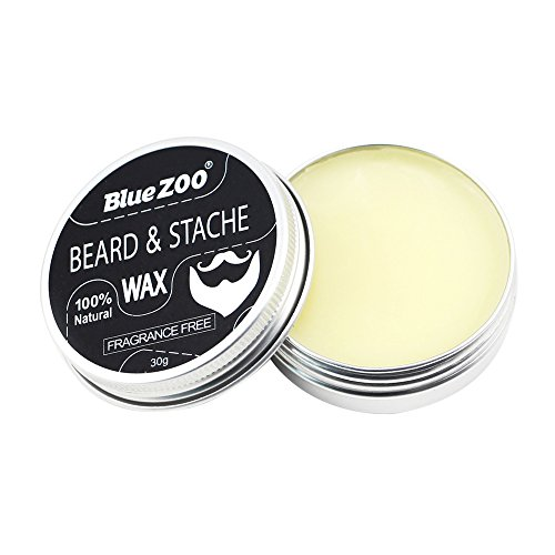 Bonarty Natural Beard Balm Moisturizing Schnurrbartwachs Men Grooming Sweet Orange/Sandelholz/Eukalyptus/Duftfrei - Frei von Duftstoffen
