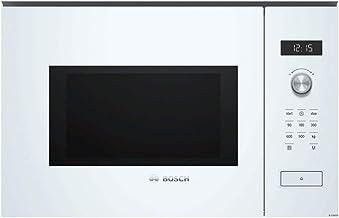 Bosch Serie 6 BFL554MW0 - Microondas (Integrado, Solo microondas, 25 L, 900 W, Giratorio, Tocar, Blanco)
