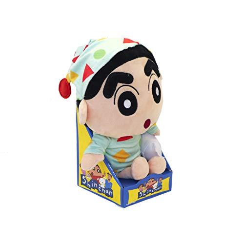 Shin Chan con Pijama Muñeco De Peluche Juguete Anime Japonés niños y coleccionista 30 CM